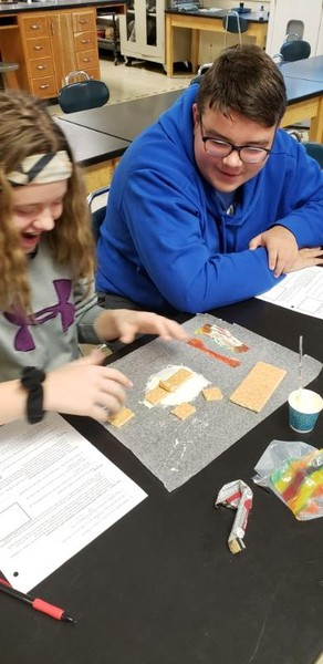 8th Grade Students Model Plate Tectonic Boundaries