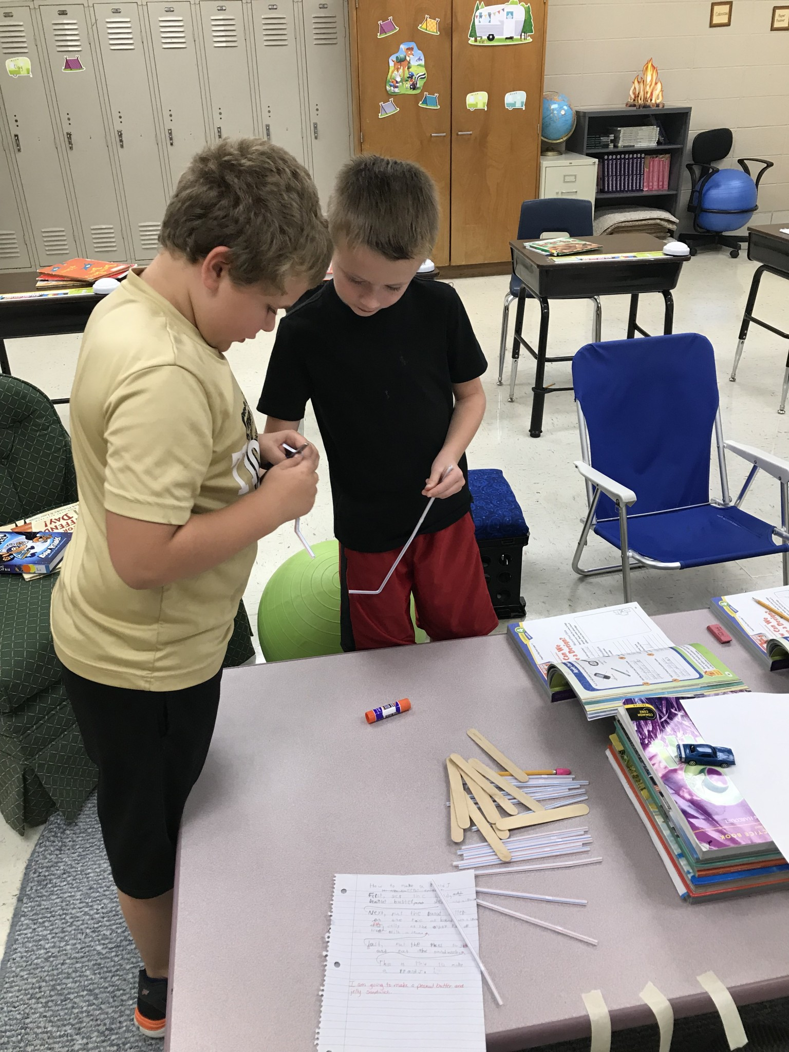3rd Graders Design a Bridge