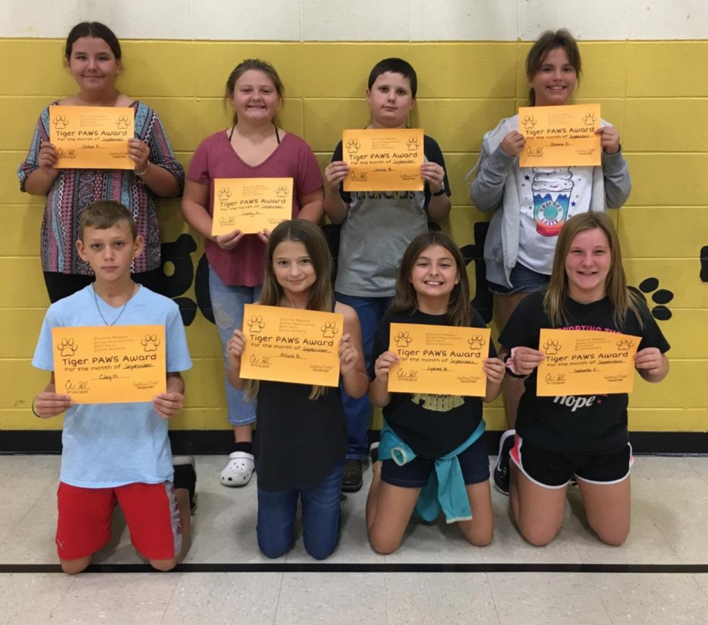 September PAWS Awards
