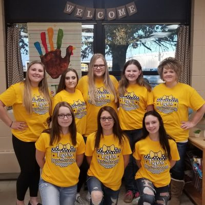 2019 Junior High Cheerleaders