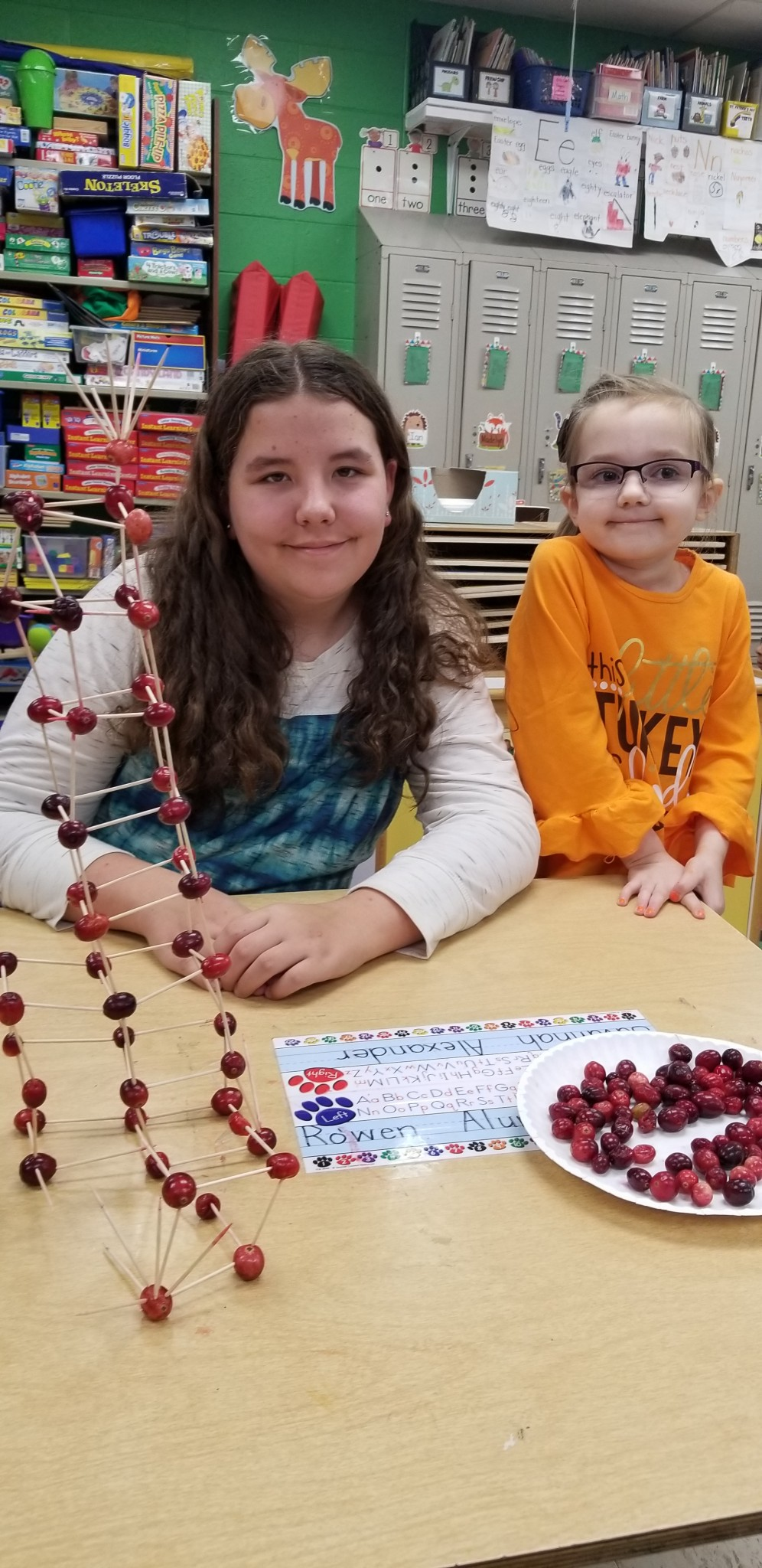 Preschool, 3rd Grade and 5th Grade STEM Activity