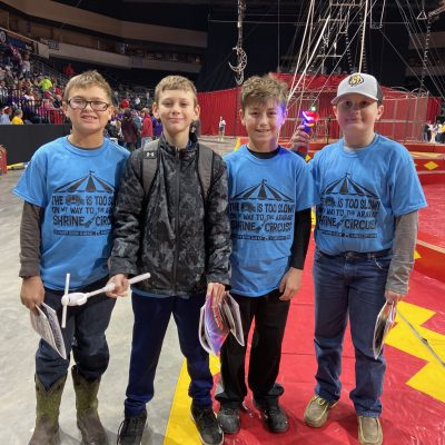 5th Grade Ararat Shrine Circus Trip