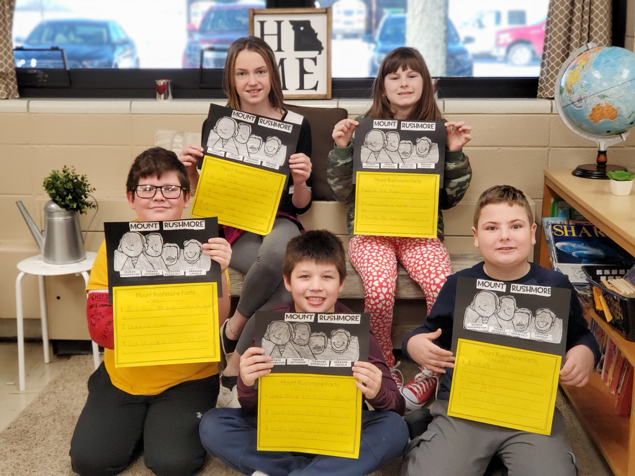 4th Grade Studies Midwest Region and Mount Rushmore