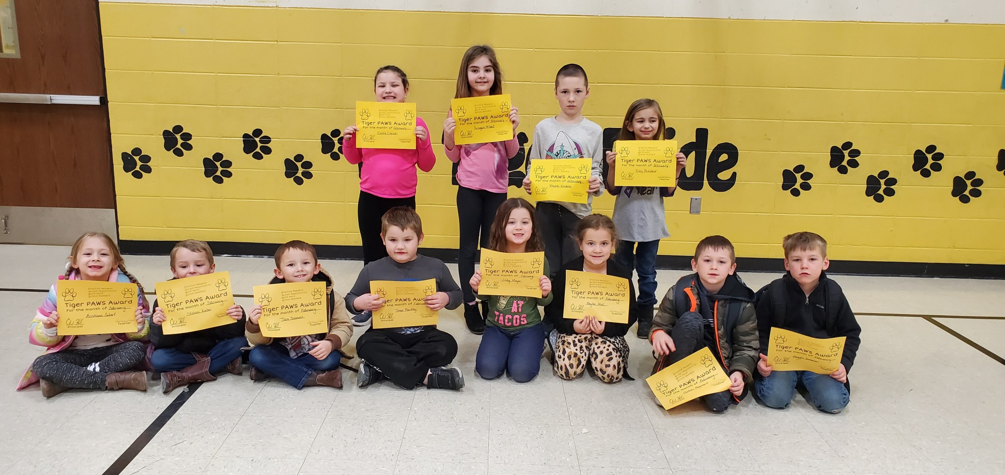 February PAWS Recipients