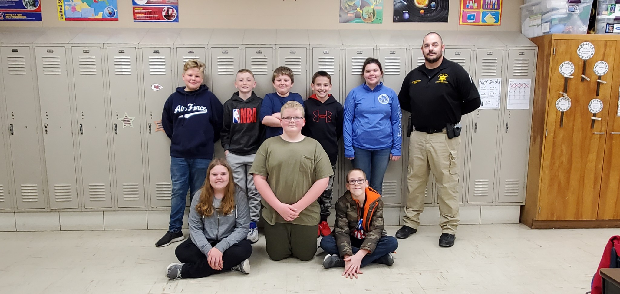6th Grade Completes Hunter Education Program